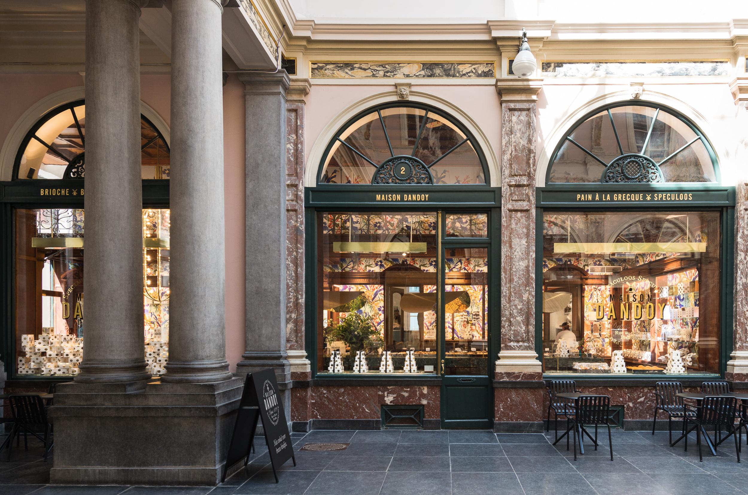 La maison dandoy s 39 agrandit maison dandoy - Maison de la chine boutique ...