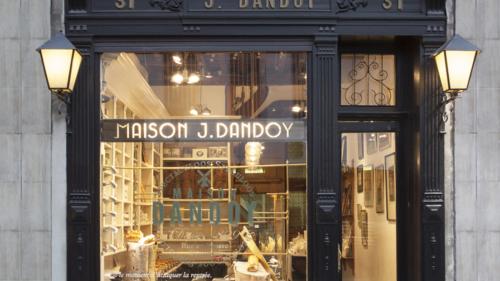 Maison Dandoy Boutique Rue Beurre Bruxelles