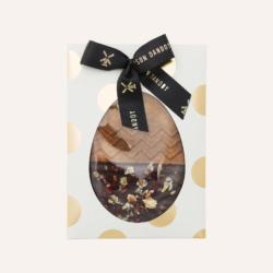 Oeuf Pâques Speculoos Chocolat Noir Maison Dandoy