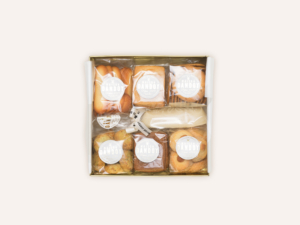 Boite Golden Or Papercu Maison Dandoy