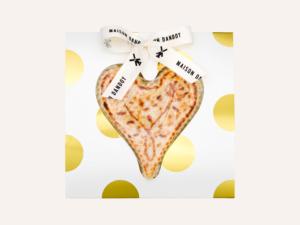 Coeur Massepain Cuit Emballe Maison Dandoy