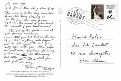 Carte Postale Philippe Hanne Texte Maison Dandoy