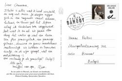 Carte Postale Pia Hanne Texte Maison Dandoy