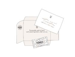 Enveloppe Bon Cadeau Maison Dandoy