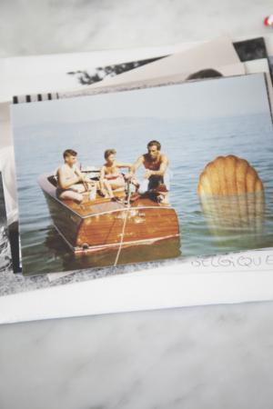 Madeleines Carte Postale Lac Italie Maison Dandoy