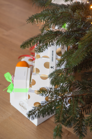 Sapin Cadeaux Sucre Canne Speculoos Table Noel Maison Dandoy
