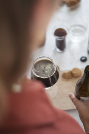 Tough Cookie Verre Biere Collab Brussels Beer Project Maison Dandoy