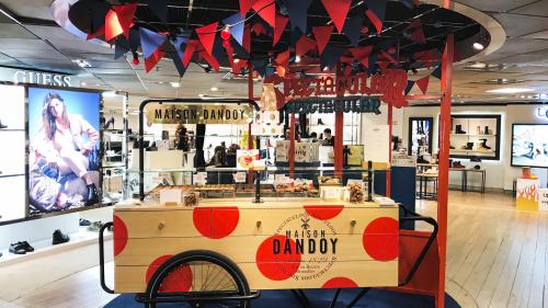 Roulotte Galeries Lafayettes Maison Dandoy