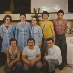 Equipe Maison Dandoy Annees 1970