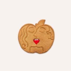 Pomme Amour Saint Valentin Homme Femme Maison Dandoy