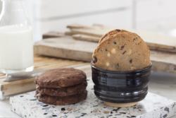 Cookies Chocolat Classique Bol Lait Atelier Pierre Culot Maison Dandoy