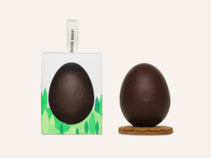 Dandoy dark chocolate egg and its box