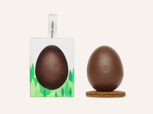 Dandoy milk chocolate egg and its box