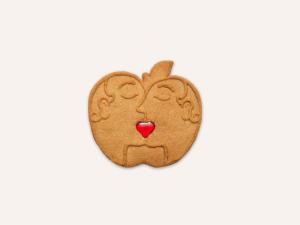 Pomme Amour Saint Valentin Version Hommes Maison Dandoy