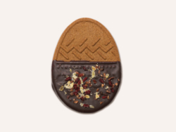 Speculoos dark chocolate egg