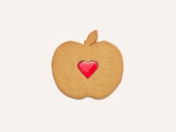 Pomme Amour Maison Dandoy Saint Valentin Speculoos Vanille