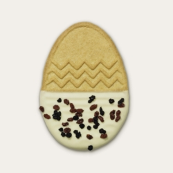 Speculoos white chocolate egg
