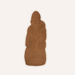 Saint Nicolas Speculoos Chocolat 65Cm Maison Dandoy
